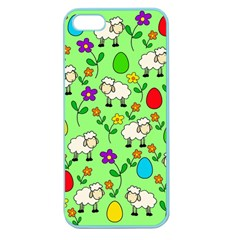 Easter lamb Apple Seamless iPhone 5 Case (Color)