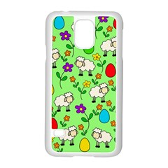 Easter lamb Samsung Galaxy S5 Case (White)