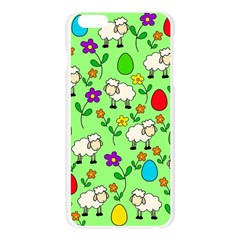 Easter lamb Apple Seamless iPhone 6 Plus/6S Plus Case (Transparent)