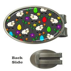 Easter lamb Money Clips (Oval)