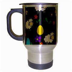 Easter lamb Travel Mug (Silver Gray)