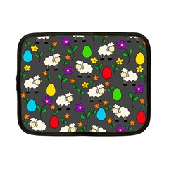 Easter lamb Netbook Case (Small)