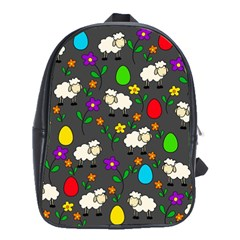 Easter lamb School Bags(Large)