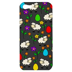 Easter lamb Apple iPhone 5 Hardshell Case