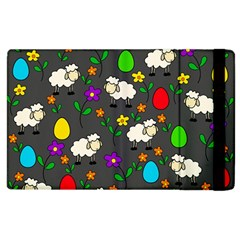 Easter lamb Apple iPad 2 Flip Case