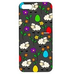 Easter lamb Apple iPhone 5 Hardshell Case with Stand