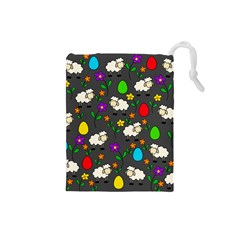 Easter lamb Drawstring Pouches (Small)