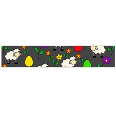 Easter lamb Flano Scarf (Large)