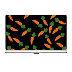 Carrot pattern Business Card Holders