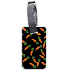 Carrot pattern Luggage Tags (One Side)