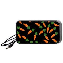 Carrot pattern Portable Speaker (Black)