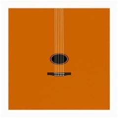 Minimalism Art Simple Guitar Medium Glasses Cloth (2-Side)