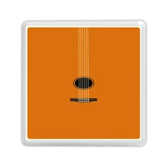 Minimalism Art Simple Guitar Memory Card Reader (Square)