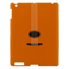 Minimalism Art Simple Guitar Apple iPad 3/4 Hardshell Case