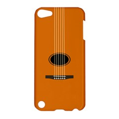 Minimalism Art Simple Guitar Apple iPod Touch 5 Hardshell Case