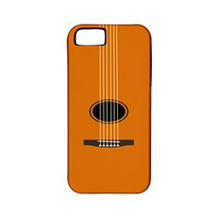Minimalism Art Simple Guitar Apple iPhone 5 Classic Hardshell Case (PC+Silicone)