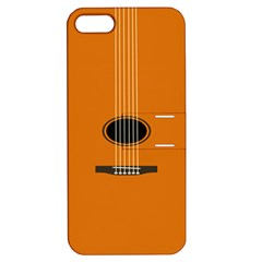 Minimalism Art Simple Guitar Apple iPhone 5 Hardshell Case with Stand