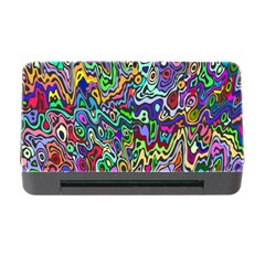 Colorful Abstract Paint Rainbow Memory Card Reader with CF