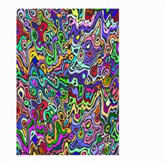 Colorful Abstract Paint Rainbow Large Garden Flag (Two Sides)