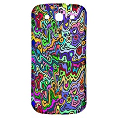 Colorful Abstract Paint Rainbow Samsung Galaxy S3 S III Classic Hardshell Back Case
