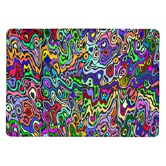 Colorful Abstract Paint Rainbow Samsung Galaxy Tab 10.1  P7500 Flip Case