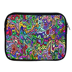 Colorful Abstract Paint Rainbow Apple iPad 2/3/4 Zipper Cases