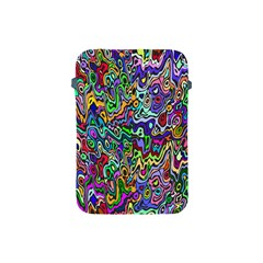 Colorful Abstract Paint Rainbow Apple iPad Mini Protective Soft Cases