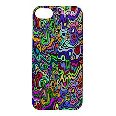 Colorful Abstract Paint Rainbow Apple iPhone 5S/ SE Hardshell Case