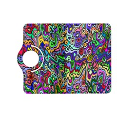 Colorful Abstract Paint Rainbow Kindle Fire HD (2013) Flip 360 Case