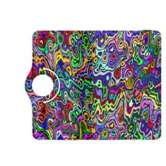 Colorful Abstract Paint Rainbow Kindle Fire HDX 8.9  Flip 360 Case