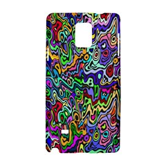 Colorful Abstract Paint Rainbow Samsung Galaxy Note 4 Hardshell Case