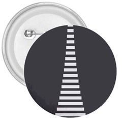 Minimalist Stairs White Grey 3  Buttons
