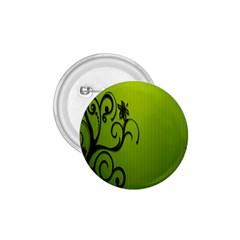 Illustration Wallpaper Barbusak Leaf Green 1.75  Buttons