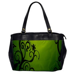 Illustration Wallpaper Barbusak Leaf Green Office Handbags