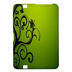 Illustration Wallpaper Barbusak Leaf Green Kindle Fire HD 8.9