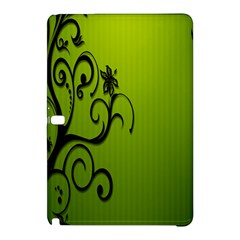 Illustration Wallpaper Barbusak Leaf Green Samsung Galaxy Tab Pro 12.2 Hardshell Case
