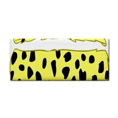 Leopard Polka Dot Yellow Black Cosmetic Storage Cases