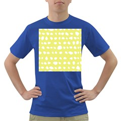 Polkadot White Yellow Dark T-Shirt