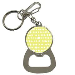 Polkadot White Yellow Button Necklaces