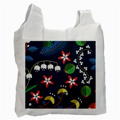Origami Flower Floral Star Leaf Recycle Bag (Two Side)