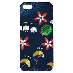 Origami Flower Floral Star Leaf Apple iPhone 5 Hardshell Case