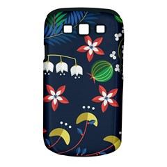 Origami Flower Floral Star Leaf Samsung Galaxy S III Classic Hardshell Case (PC+Silicone)