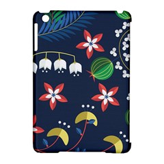 Origami Flower Floral Star Leaf Apple iPad Mini Hardshell Case (Compatible with Smart Cover)