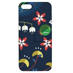 Origami Flower Floral Star Leaf Apple iPhone 5 Hardshell Case with Stand
