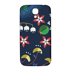 Origami Flower Floral Star Leaf Samsung Galaxy S4 I9500/I9505  Hardshell Back Case
