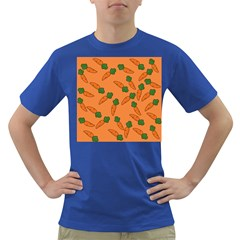 Carrot pattern Dark T-Shirt