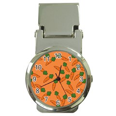 Carrot pattern Money Clip Watches