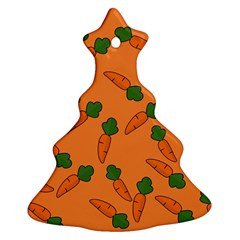 Carrot pattern Ornament (Christmas Tree)