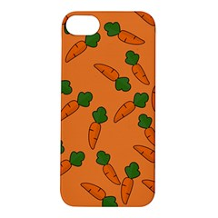 Carrot pattern Apple iPhone 5S/ SE Hardshell Case