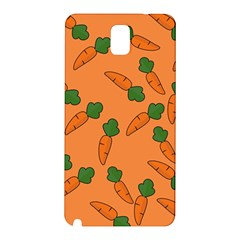 Carrot pattern Samsung Galaxy Note 3 N9005 Hardshell Back Case